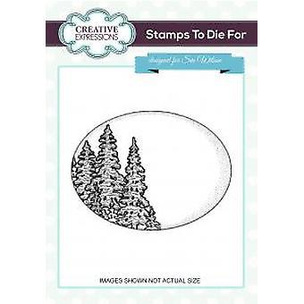 ביטויים יצירתיים מדליון עצי חורף 2 בולים חתוכים מראש