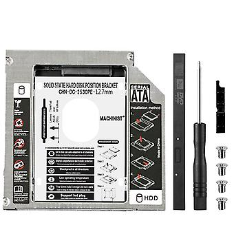 12.7mm Sata 3.0 2e Hdd Caddy Ssd Cd Dvd Case Voor Laptop Dvd-rom Optical Bay