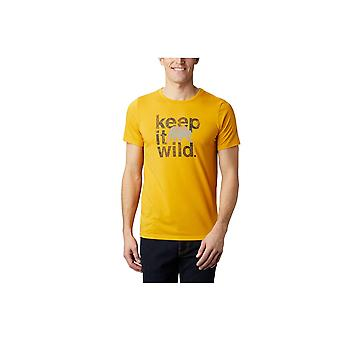 Columbia Terra Vale II 1888843790 universell hele året menn t-skjorte