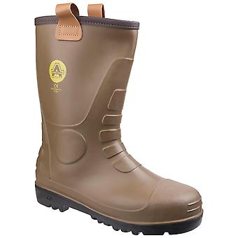 Amblers fs95 impermeable pvc safety rigger botas mujeres