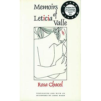 Memoirs of Leticia Valle by Rosa Chacel - 9780803263604 Book