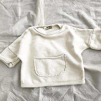 Autumn Westernized, Korean Pocket, Sweater Top For And