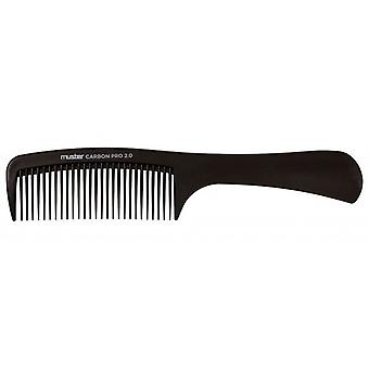 Muster Comb with Handle Carbon Pro 2 0 Color 17629