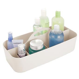 mDesign Kunststoff Badezimmer Lagerung Organizer Caddy Tote