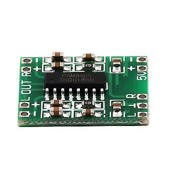 Mini Digitaalinen vahvistinlevy 2* 3w Luokka 2,5v - 5v Tehovahvistinlevy