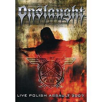 Onslaught - Live Polish Assault 2007 [DVD] USA import