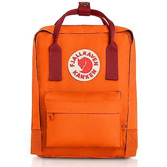 Fjallraven - Mochila Kanken Mini Classic para todos los días - Burnt Orange-Deep Red