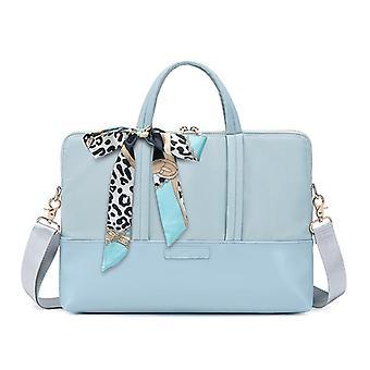 Iskunesteinen kannettava laukku, naisten kannettava laukku 15,6 tuumaa