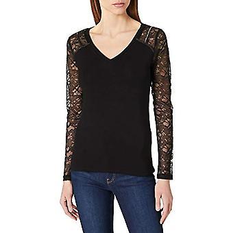 Morgan Tshirt Thea T-Shirt, Black, XS High Woman