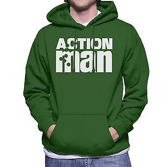 Action Man Logo Men's Hooded Sweatshirt