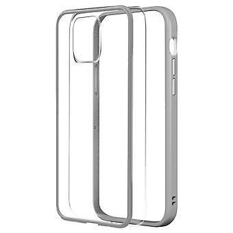 Apple iPhone 12 Mini Case, Changable Bumper + Rear, silver, Rhinoshield