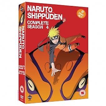 Naruto Shippuden Complete Series 4 Box Set Episodes 154-192 DVD
