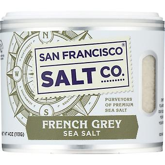 San Francisco Salt Co Salt Sea French Grey, Case of 6 X 4 Oz