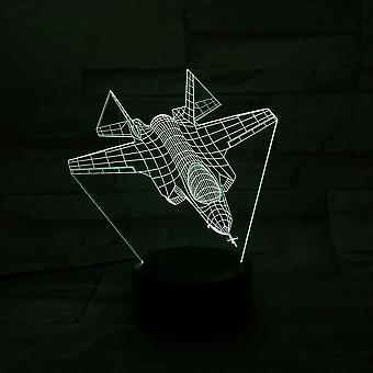 Space Fighter Series 3d Small Night Lamp Led Colorful Usb Table Lamp