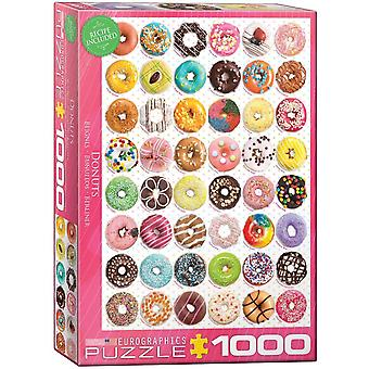 Eurographics Donuts Jigsaw Puzzle (1000 Pieces)