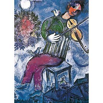 Eurographics Le Violoniste Bleu, Chagall Jigsaw Puzzle (1000 Pièces)