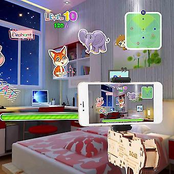 Children Bluetooth Connection Ar Gioco Realtà aumentata Extendable Diy Toy Gun