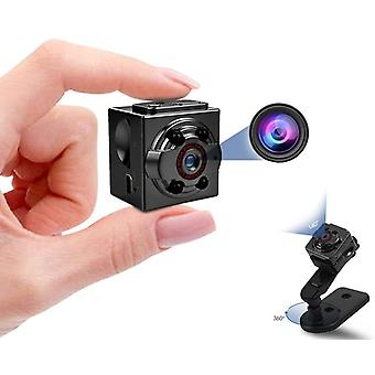 Mini Sports Camera DV 1080P Mini Secret Camera Night Vision Mini Body DVR Mini Full HD Mini Camera with Motion Sensor(Black)