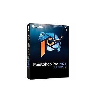 Corel PaintShop Pro 2021 Ultimate Full 1 license(s) Electronic Software Download (ESD) Multilingual