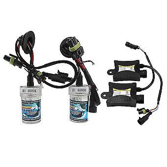 H1/h3 Car Motorcycle Headlight Xenon Replacement Bulbs Lamps Set Kit 55w