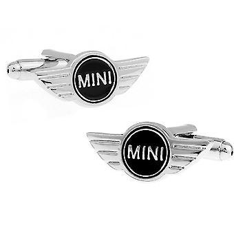 Logotipo do carro Mini Cufflinks Men Wedding Decor