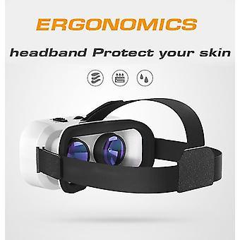 Virtuaalitodellisuus 3D-lasit pelilevyllä 4,7 6,0 tuuman puhelimella|3D-lasit / virtuaalitodellisuuslasit