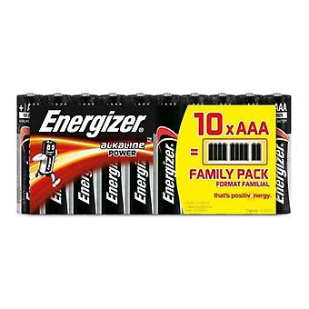 Alkaline Batteries Energizer 630066 AAA LR03 (10 uds)