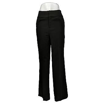 G بواسطة جوليانا المرأة السراويل ريج 12 ساعة تمتد واسعة الساق الأسود 681959
