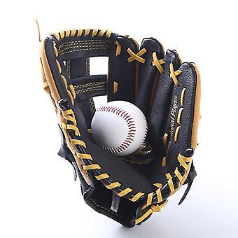 Miehet Urheilu Aito Nahka Baseball Käsineet