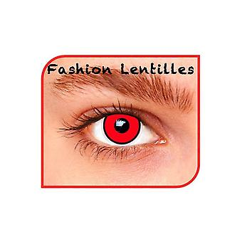 Special effect contact lenses  Red Manson 1 Day lenses