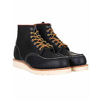 """Red Wing 8859 Heritage Work 6"""" Moc Toe Boot - Navy Portage"""
