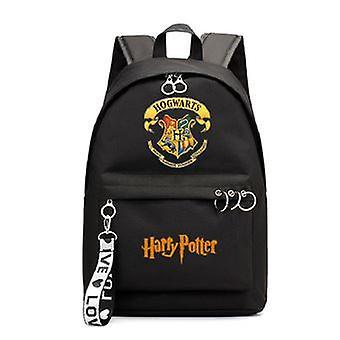 Harry Potter Badge Hogwarts Kids Zaino 44cm Nero