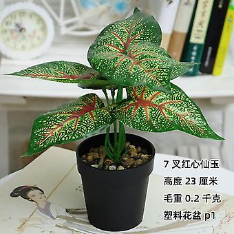 סימולציה צמח בעציץ מיני מזויף צמח בונסאי