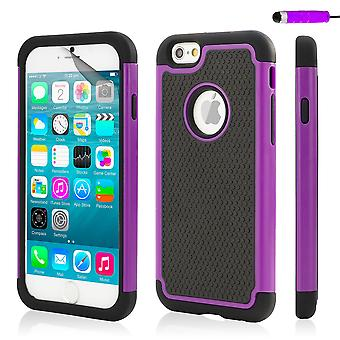 32nd Shockproof case for Apple iPhone 6 6S - Purple