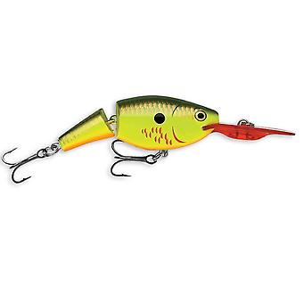 Rapala Jointed Shad Rap 07 Fishing Lure - Bleeding Hot Olive