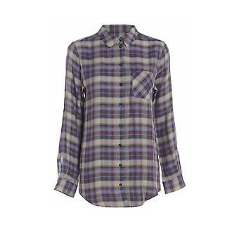 Длинный рукав проверить рубашку TP554-10