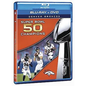 NFL Super Bowl 50 [Blu-ray] USA import