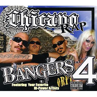 Hi Power Entertainment Presents - Hi Power Entertainment Presents: Vol. 4-Chicano Rap Bangers [CD] USA import