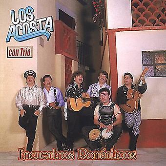 Los Acosta Con Trio - Encuentros Romanticos [CD] USA import