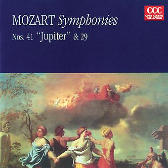 W.a. Mozart - Mozart: Symphonies Nos. 29 & 41 Jupiter [CD] USA import