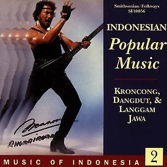 Musique de l'Indonésie 2 - musique populaire indonésien [CD] USA import