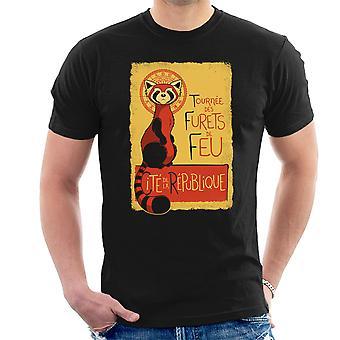 Les Furets de Feu Legend Of Korra Men's T-Shirt