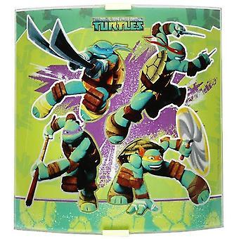 Teenage Mutant Ninja turtles Sconce Lamp in Glass