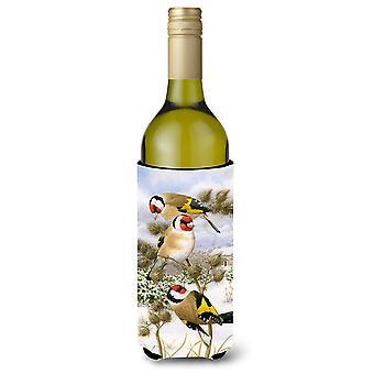 الحسون الأوروبي زجاجة النبيذ المشروبات عازل نعالها