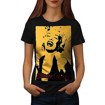 Laugh Women BlackT-shirt | Wellcoda