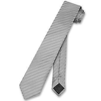 """Везувио Наполи галстук вертикальные полосы ТОЩИЙ 2.5"""" мужской галстук"""