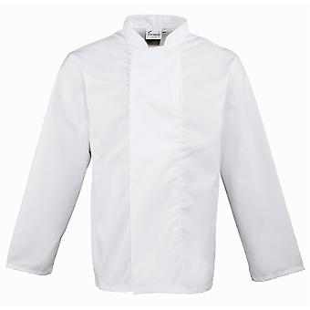 Premier Unisex Coolmax Long Sleeve Chefs Jacket / Workwear