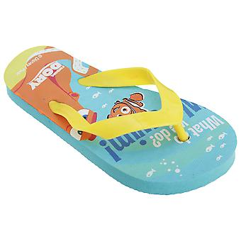 Disney Finding Dory Childrens/Kids teen Post Flip Flops