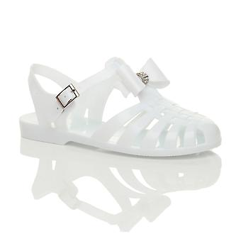 Ajvani Women 's retro diamante bue 90 gladiator fisker gelé sandaler