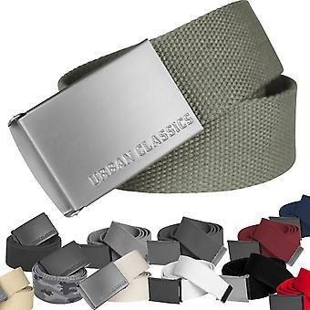 Urban classics - CANVAS fabric belt, adjustable to 120cm